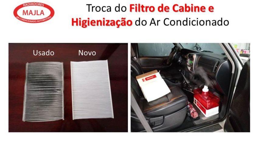 Manutenção Periódica do Ar Condicionado Automotivo